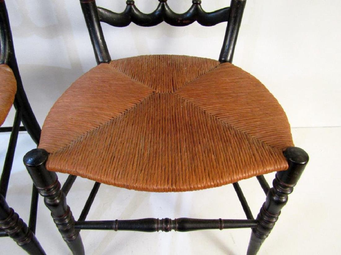 Pair of Victorian Style Side Chairs - 4