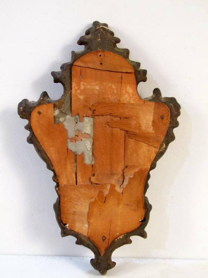 Italian Style Cartouche Framed Mirror - 4
