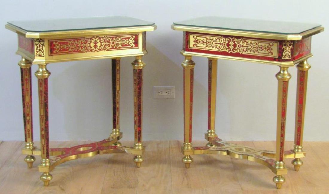 Pair Magnificent Bouillotte Tables