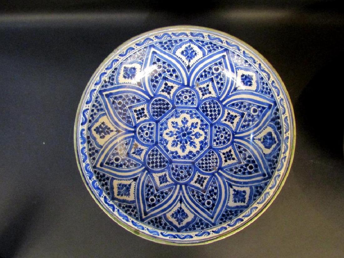 2 Persian Blue and White Bowls - 2