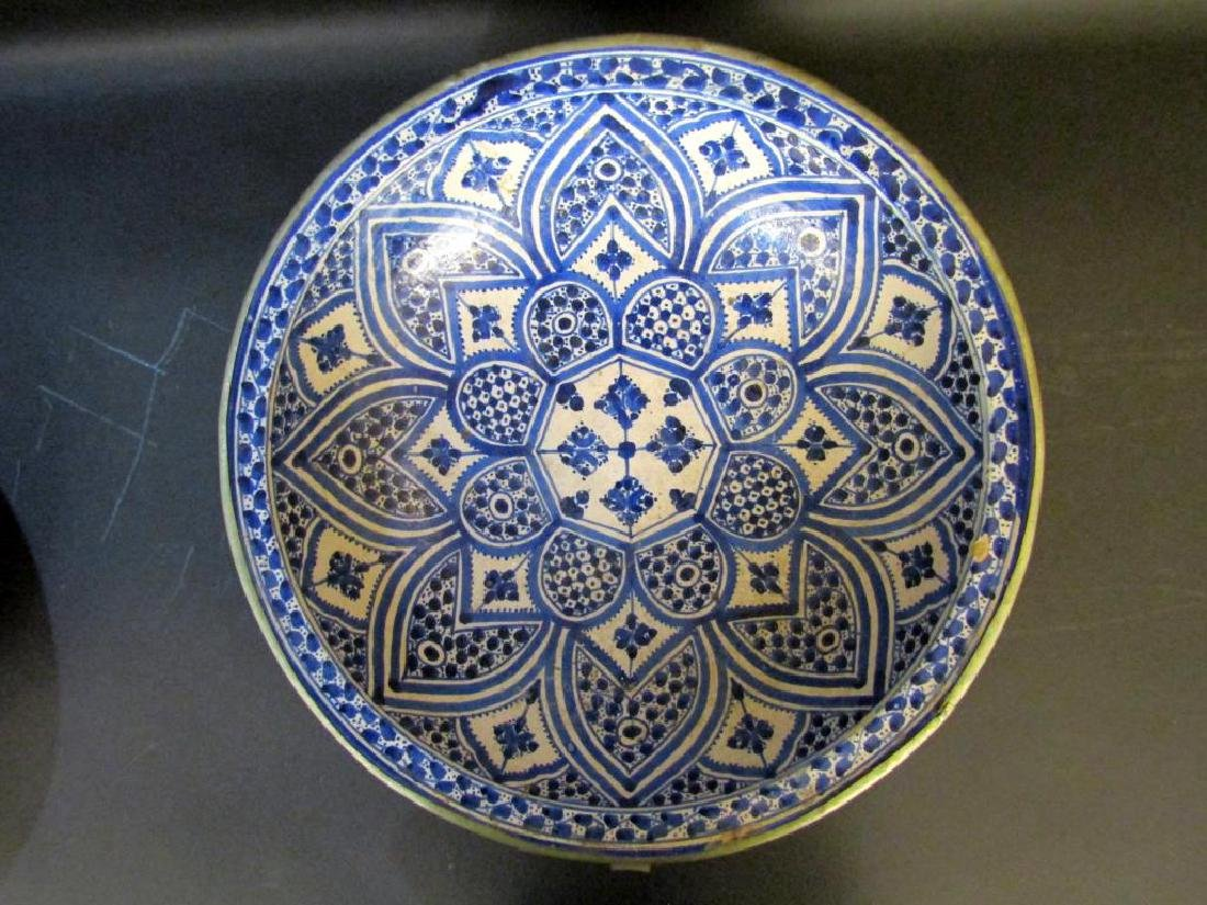 2 Persian Blue and White Bowls - 6