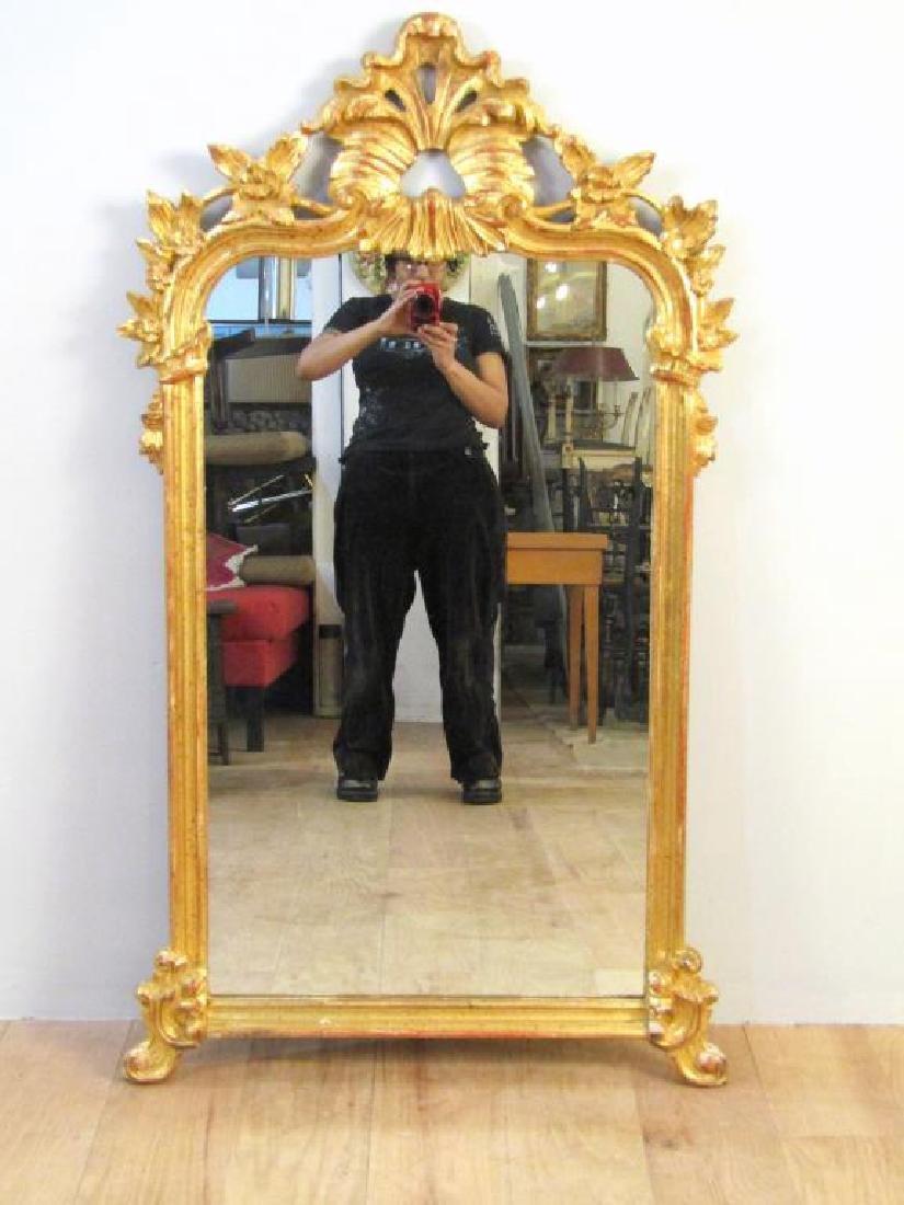 Regency Style Gilt Carved Mirror