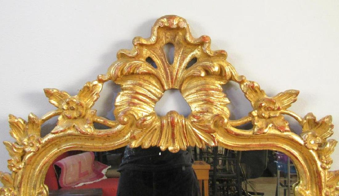 Regency Style Gilt Carved Mirror - 2