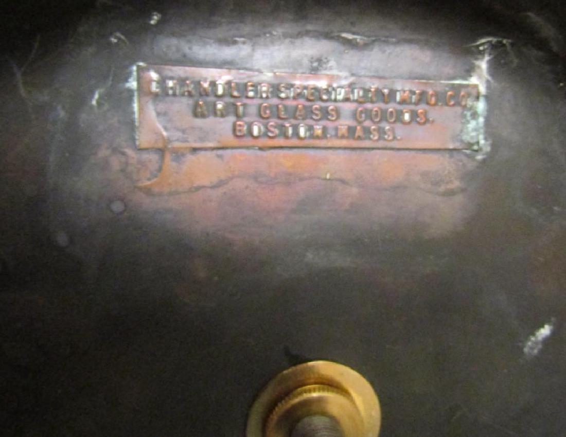 Chandler Slag Glass Table Lamp (*****) - 5