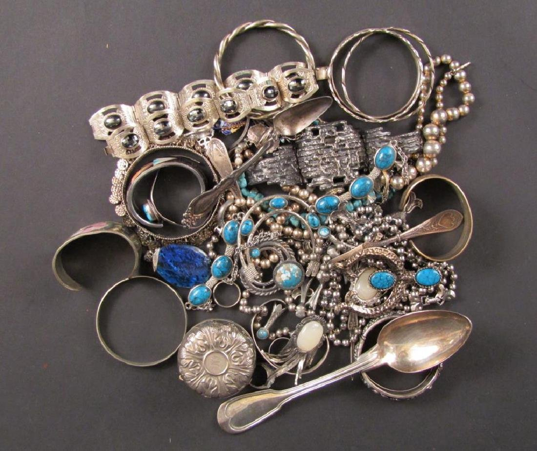 Assorted Costume Jewelry and Other Metal Articles