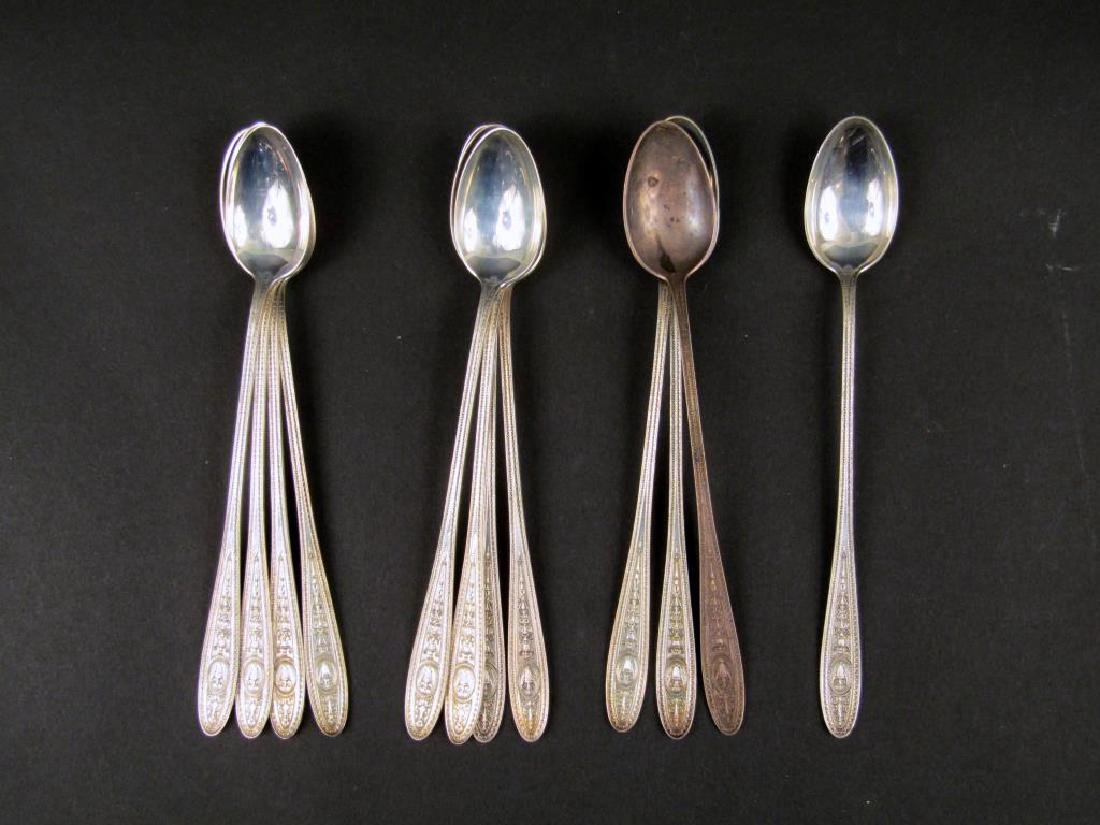 Set of 12 Sterling Silver Spoons