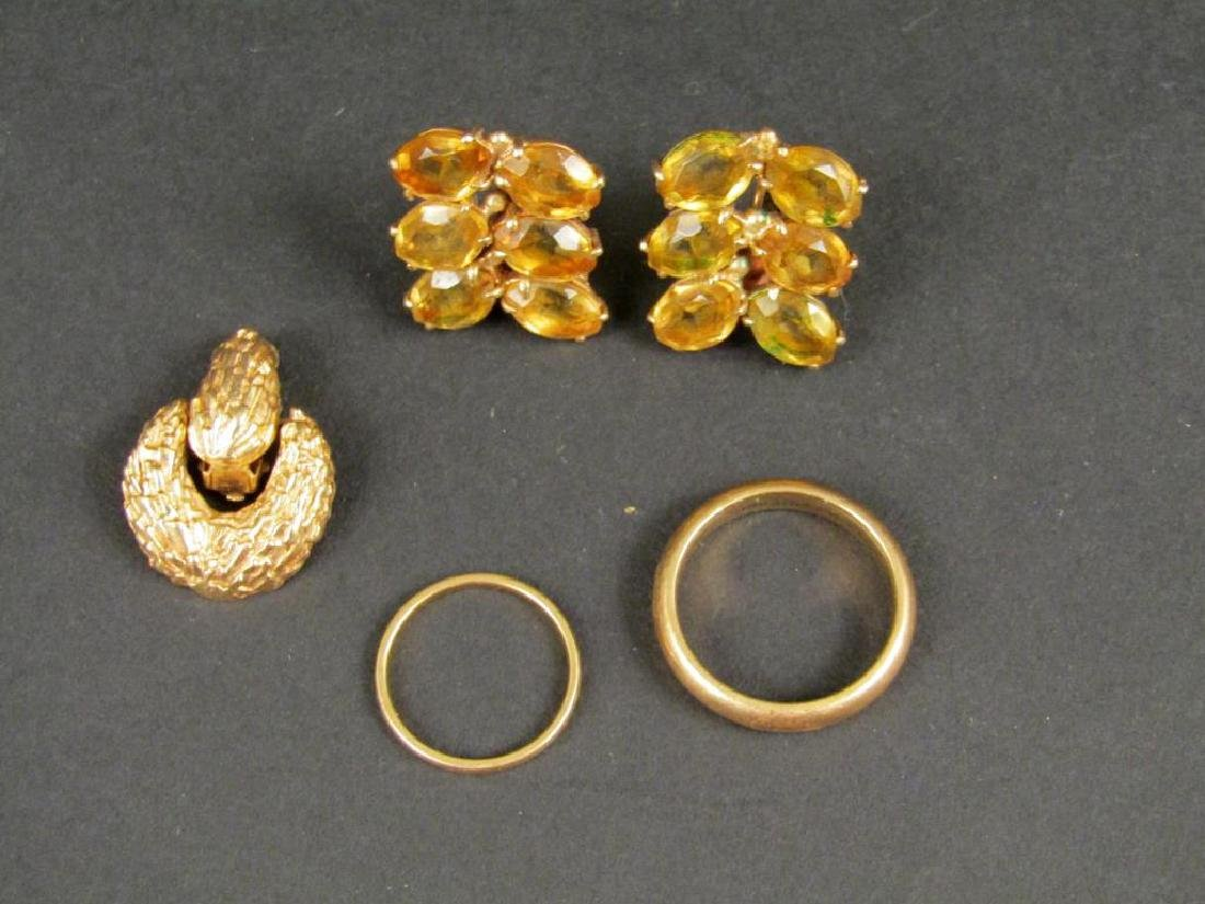 Assorted 14K Gold Jewelry