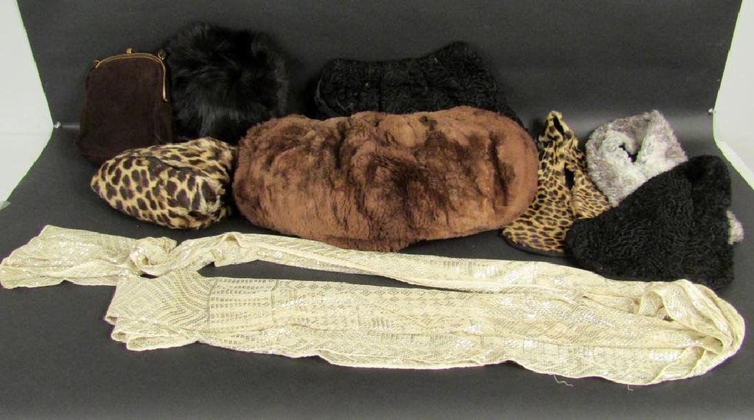 Assorted Ladies Fur & Faux Fur Accessories