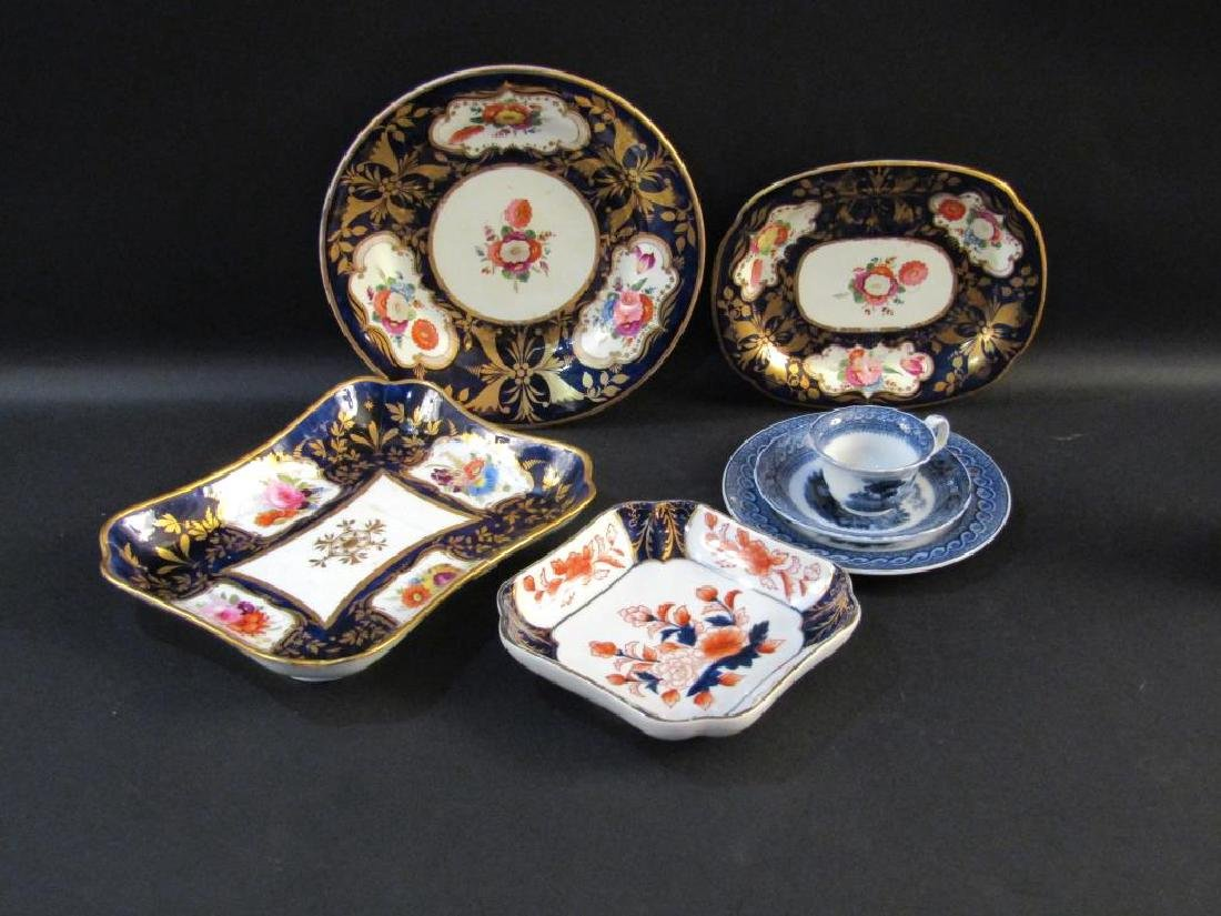 Assorted Antique English Porcelain, Etc.