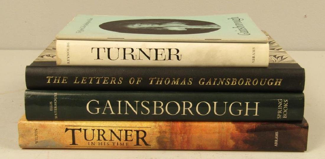 5 Books on Turner and Gainsborough