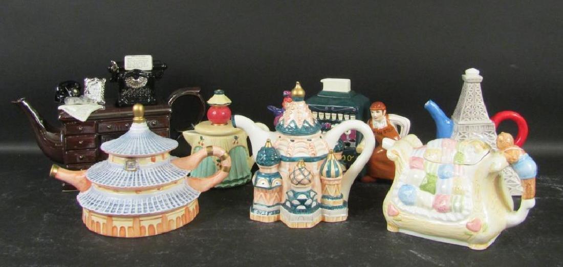 Assorted Porcelain Teapots