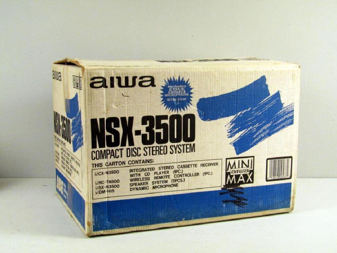 Aiwa NSX - 3500 Compact Disc Stereo System