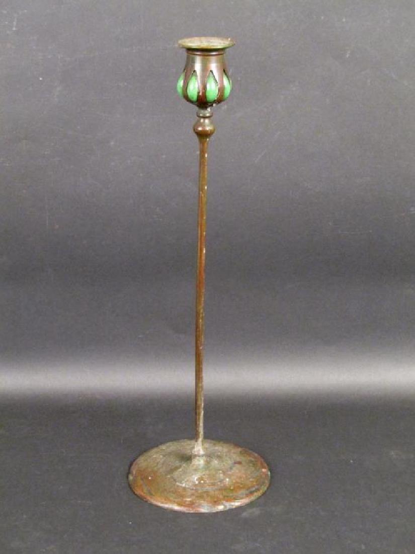 Tiffany & Co. Bronze Candlestick
