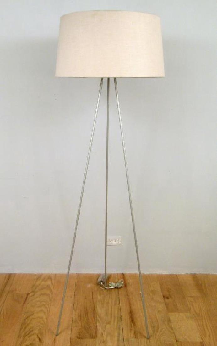 Modern Angular Style Tripod Floor Lamp