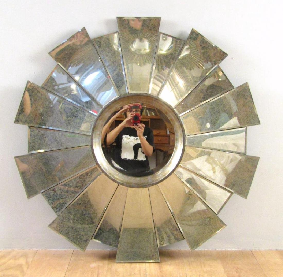 Art Deco Style Sunburst Mirror