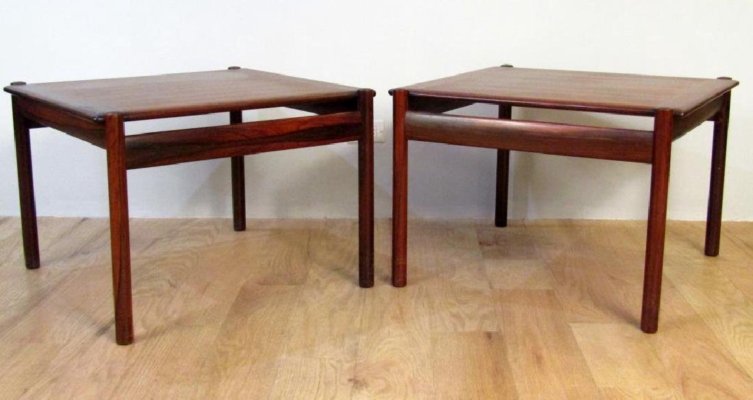 Pair Dokka Mobler Cocktail Tables