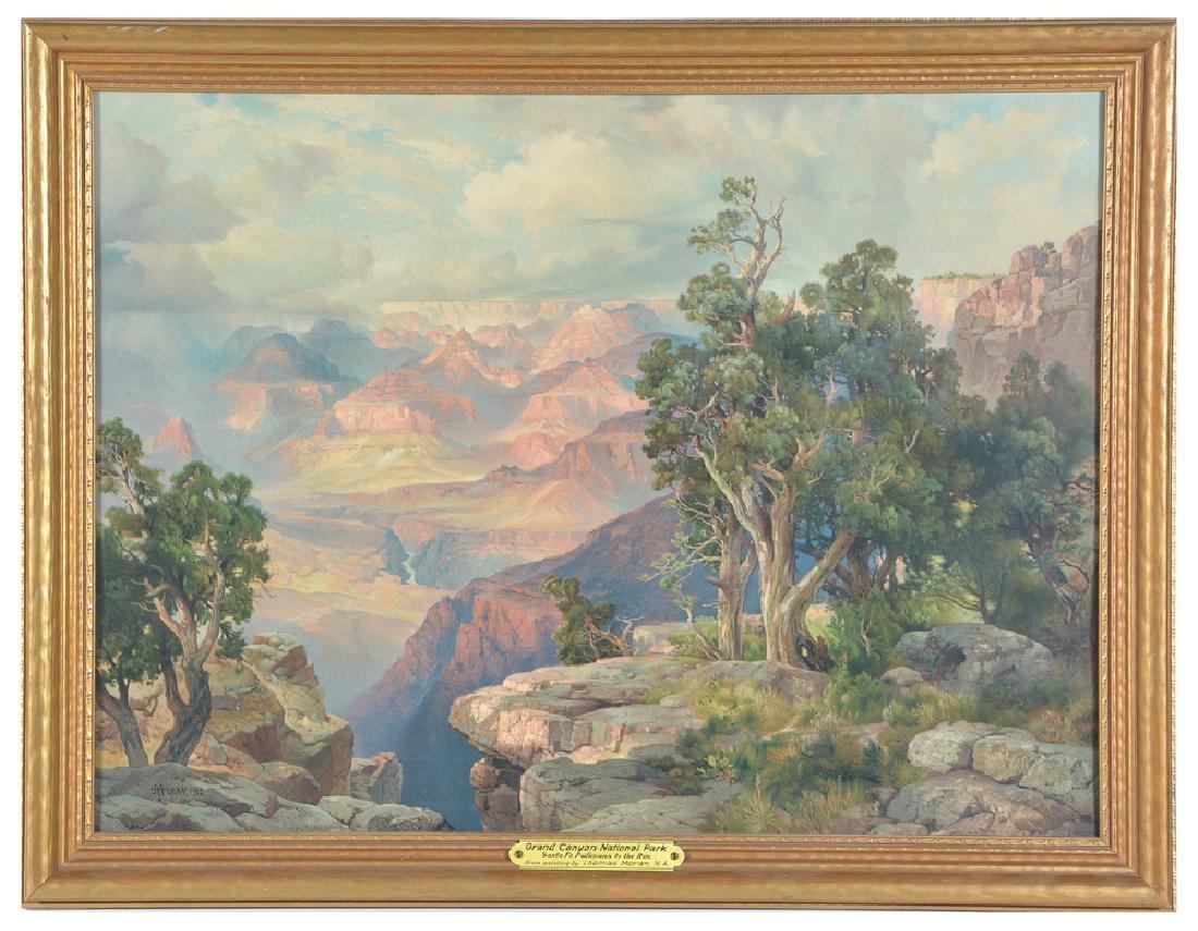 Thomas Moran, Grand Canyon National Park,
