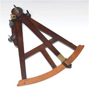 Hadley type quadrant c 1750