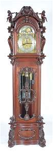 """Herschede grandfather clock. Panama Pacific Expo, 98"""" t"""