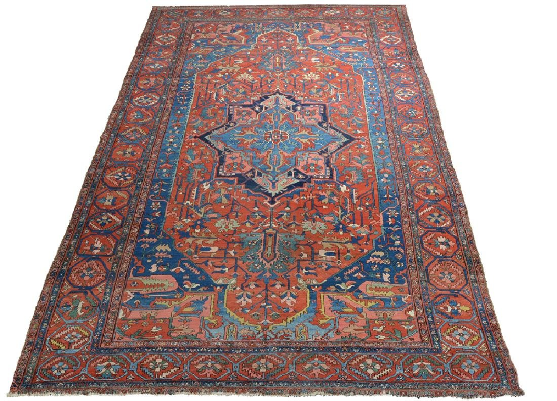 "Serapi Palace Size Carpet, 19' 2"" x 11' 11"""