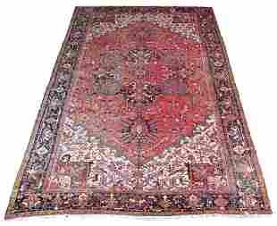 """Heriz Palace Size Carpet, appx 18' x 11' 3"""""""