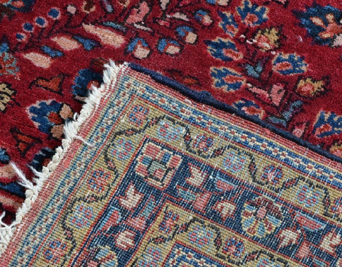 """Persian Sarouk Rug, 57"""" x 40"""" - 2"""