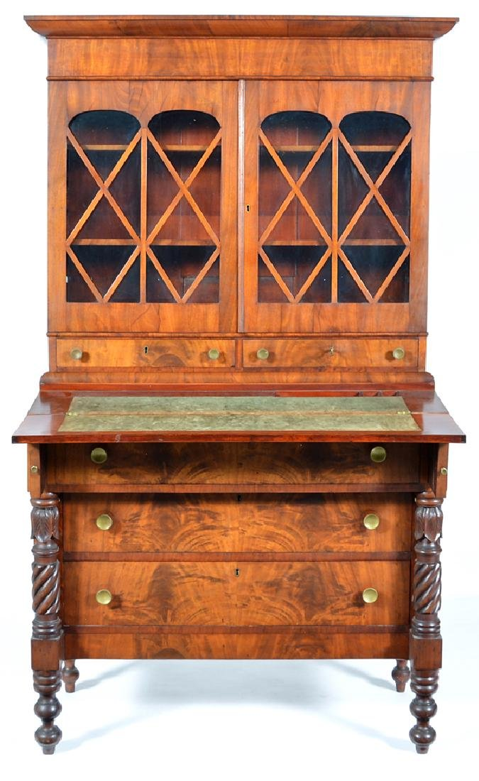 American Empire secretary, 19th c - 2