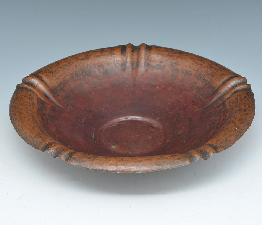 Harry Dixon hammered copper bowl