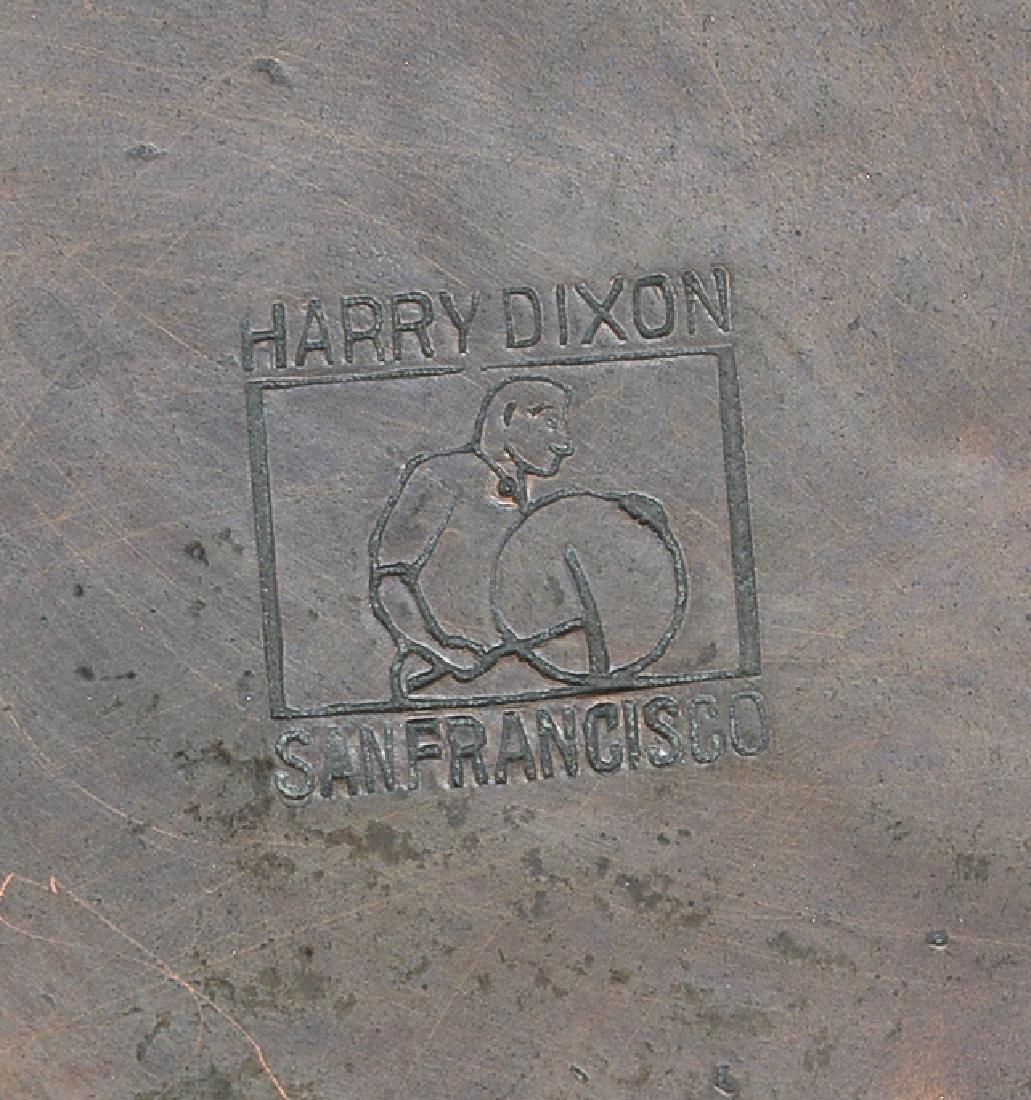 Harry Dixon hammered copper bowl - 2