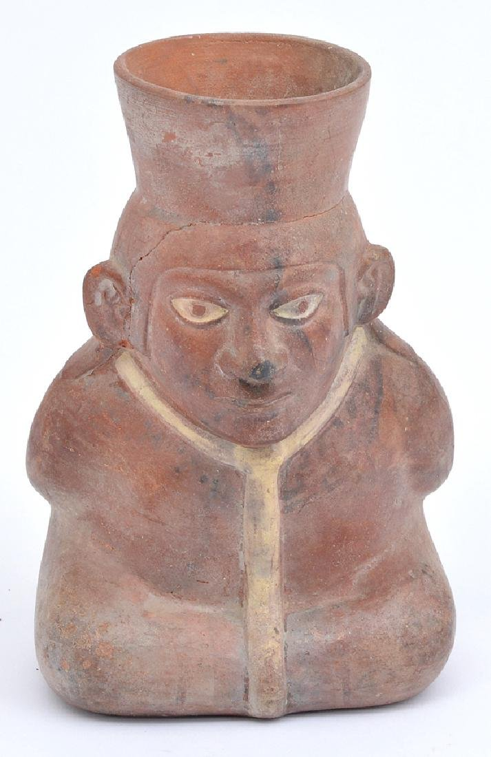Pre-Columbian Nayarit Seated Figure