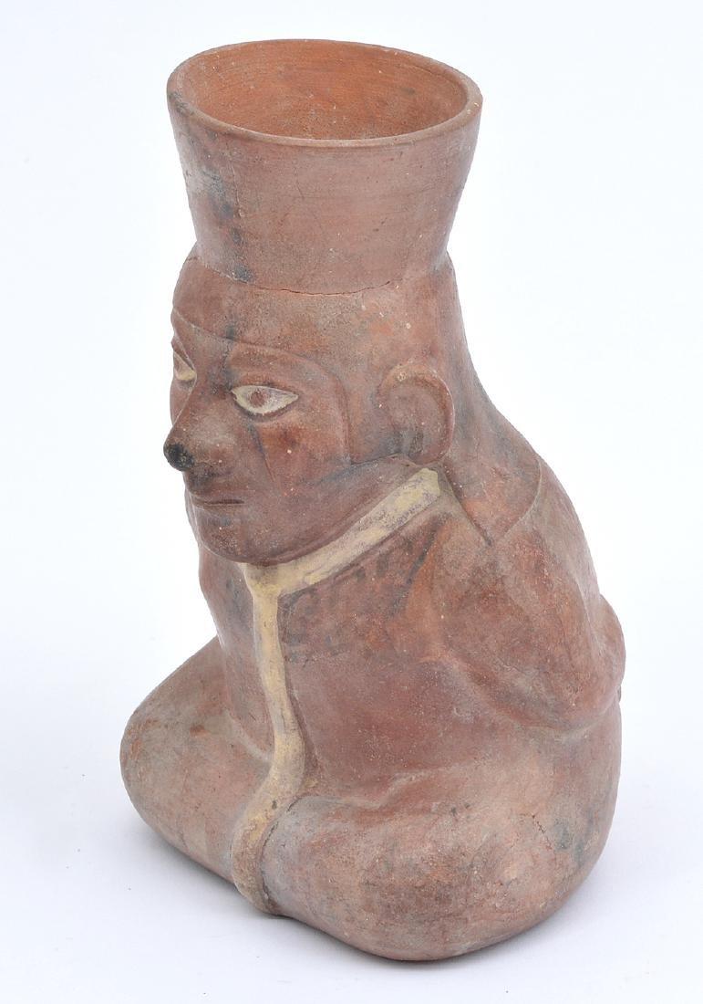 Pre-Columbian Nayarit Seated Figure - 2