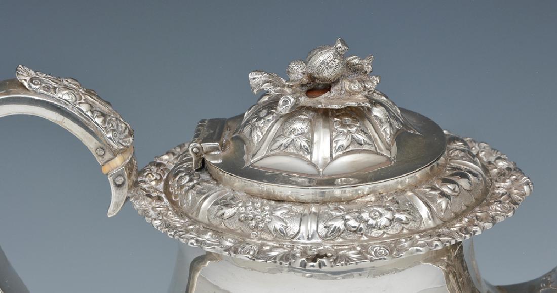 English, Georgian, London Sterling Silver Teapot - 2