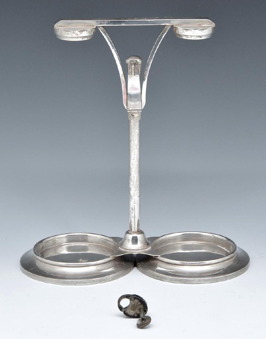 Tiffany & Co sterling silver locking bottle holder