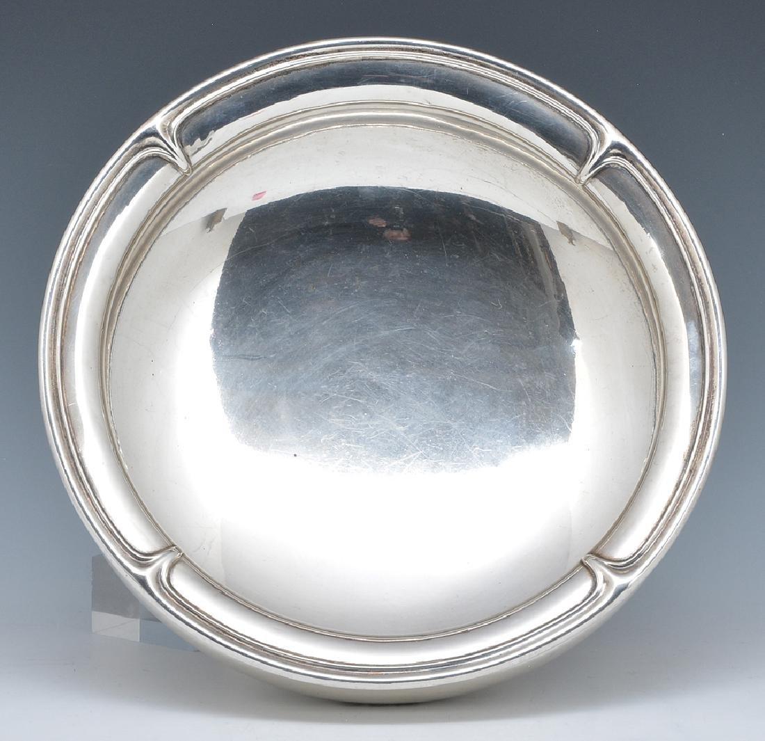 Sterling art nouveau bowl, Durgin - 2