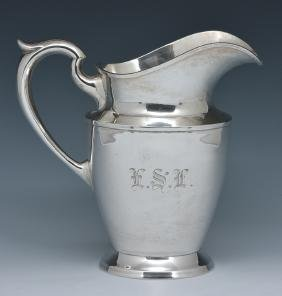 Schofield sterling silver water pitcher