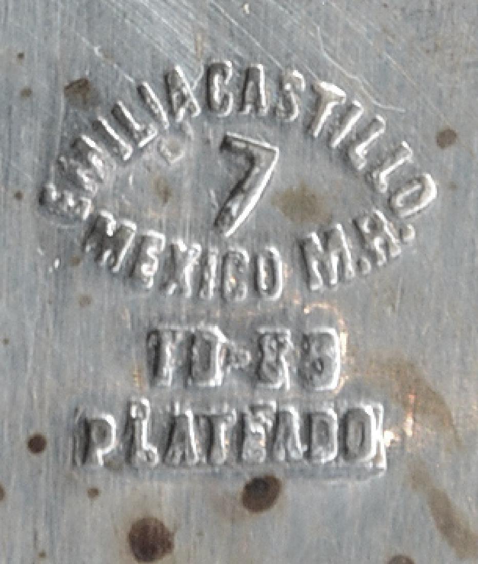 Mexican silverplate table accessories, Castillo, Taxco - 2