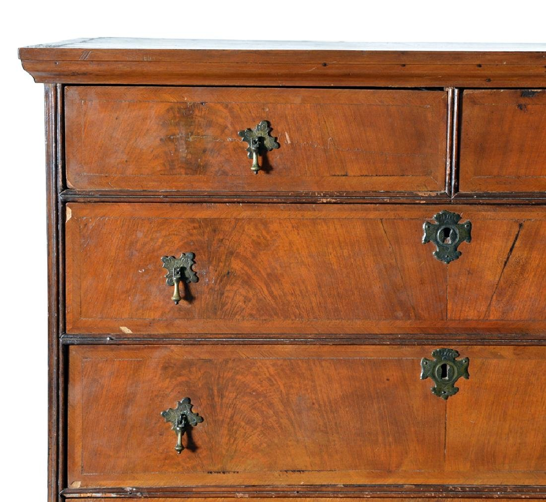 William & Mary chest on stand - 2
