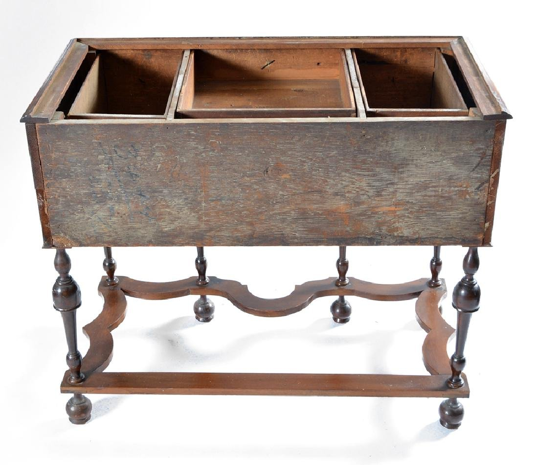 William & Mary chest on stand - 4