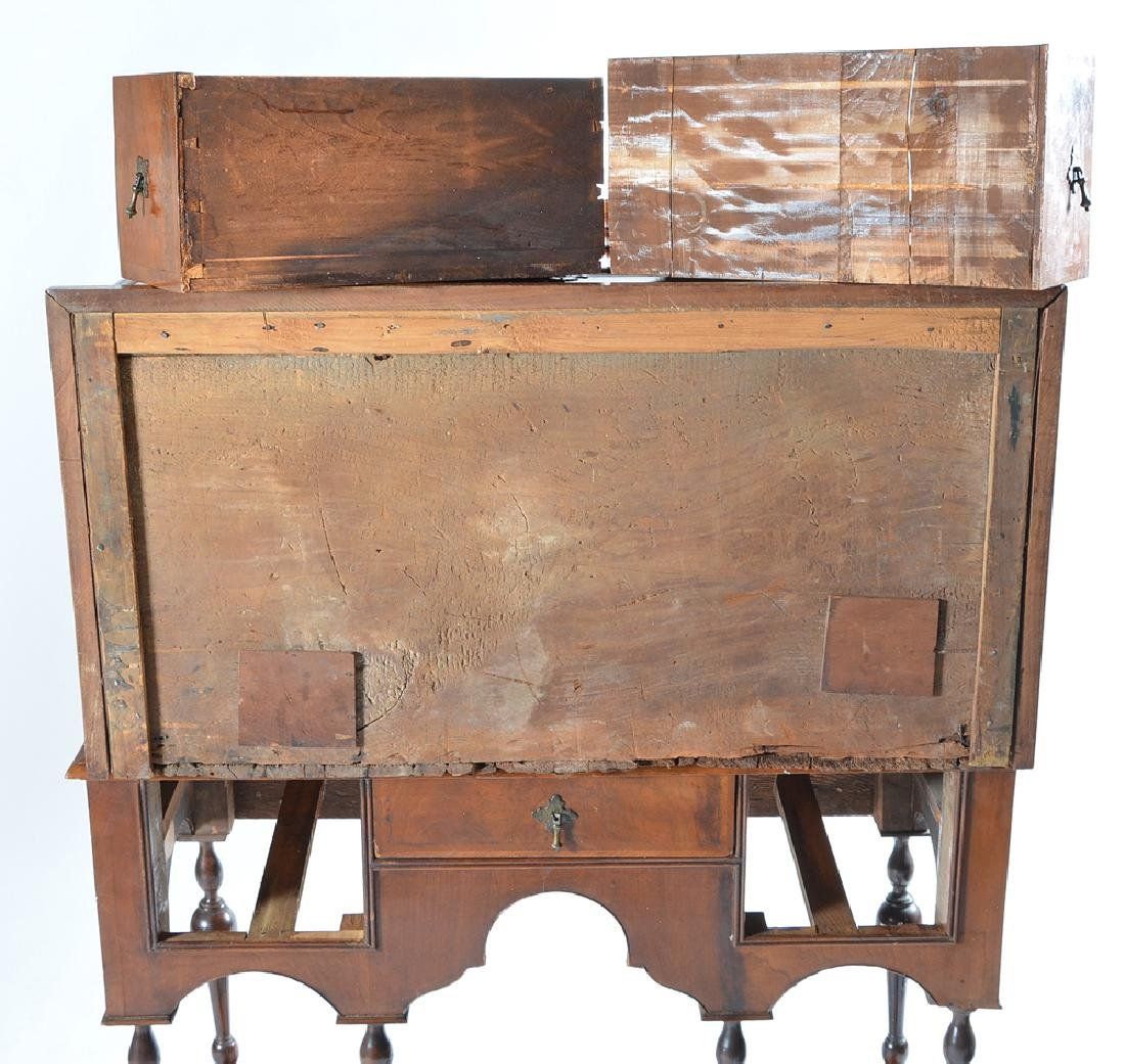 William & Mary chest on stand - 6