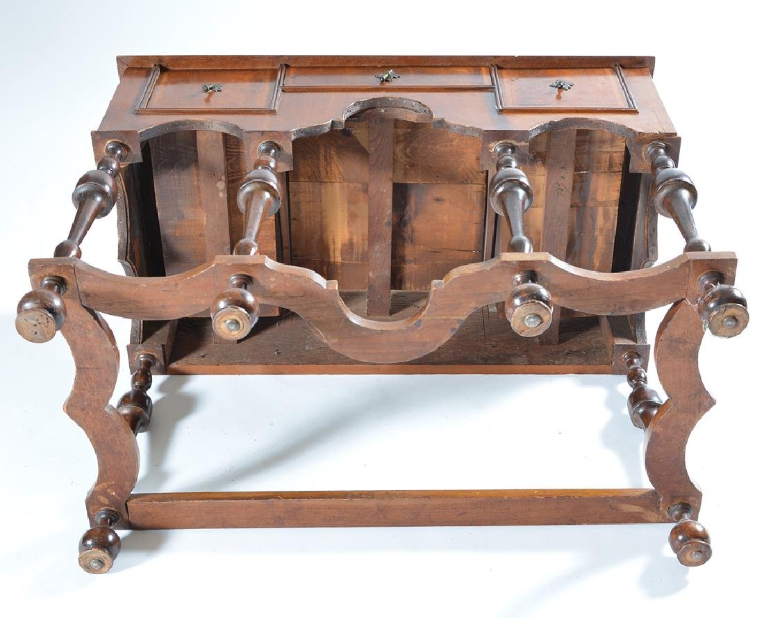 William & Mary chest on stand - 7