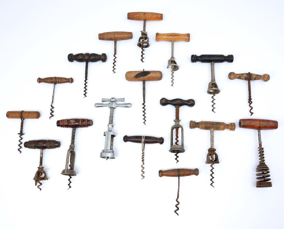 17 corkscrews