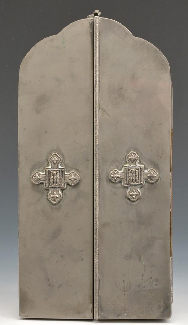 Triptych Icon, Eastern European - 2