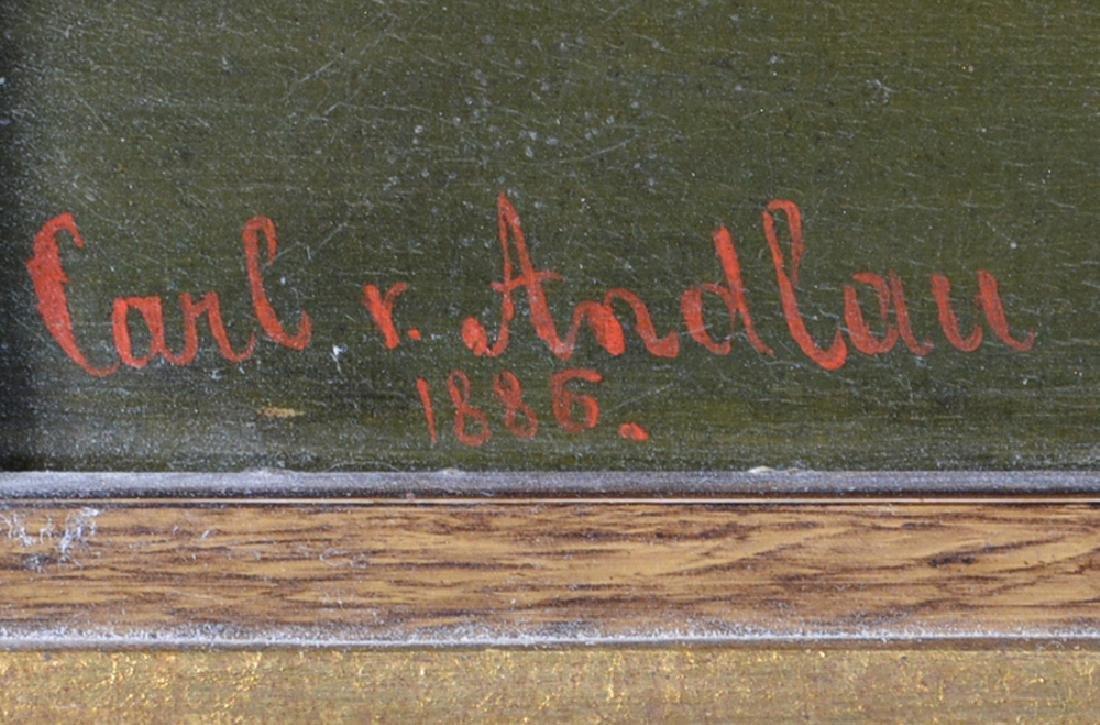 Carl V. Andlau, Fording an Alpine River, 19th c - 3