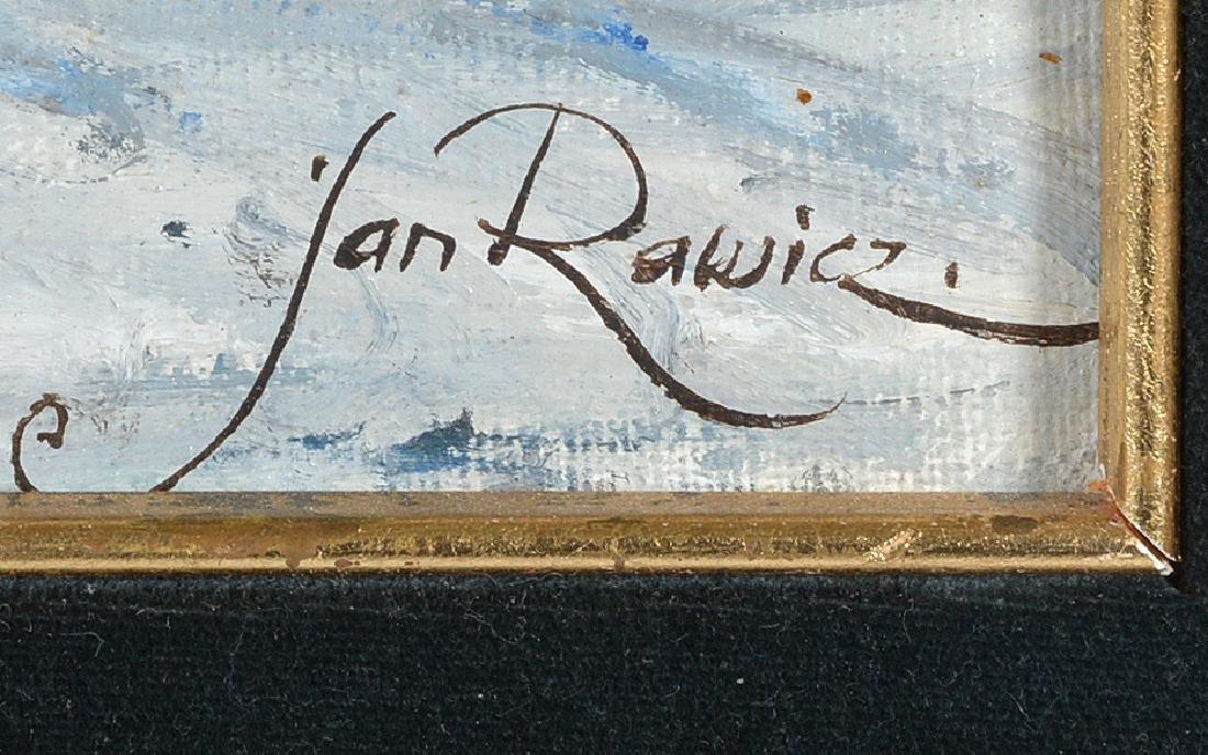Jan Rawicz, Budapest, Oil on Canvas - 2
