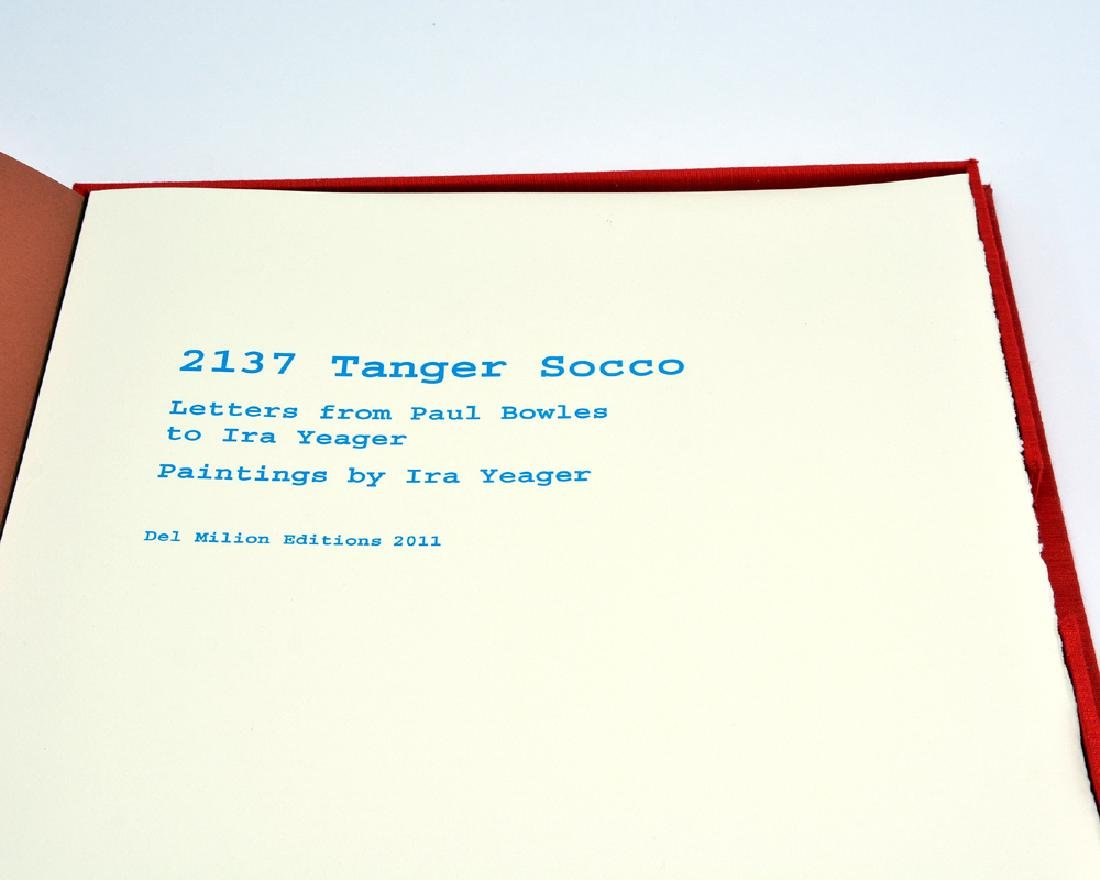 2137 Tanger Socco by Paul Bowles; illus Ira Yeager - 2