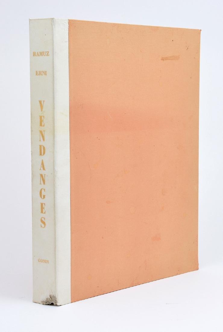 Vendanges, by C.F. (Charles-Ferdinand) Ramuz