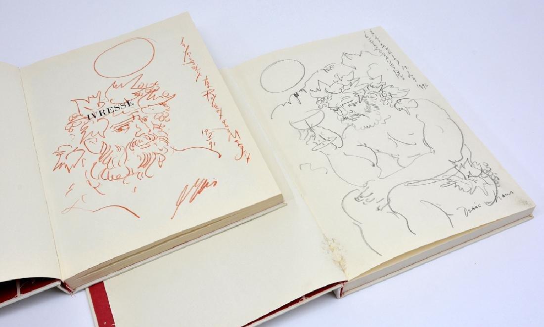 Two books: Ivrese La Vigne La Vin/ Die Reben Der Wein - 2