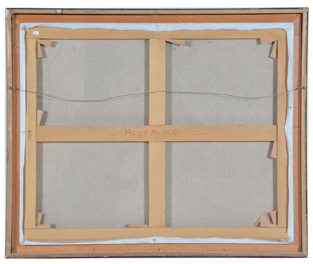 Denis Paul Noyer, Blue Moon, oil on canvas - 2