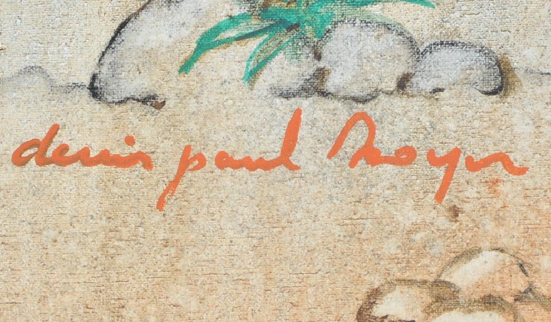 Denis Paul Noyer, Blue Moon, oil on canvas - 4