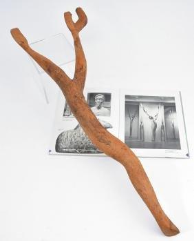 Benjamin Bufano Wood sculpture